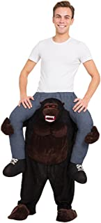 Bristol Novelty AF014 Gorilla Piggy Back Costume, One Size