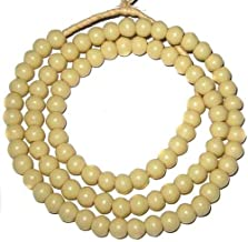 Nice Vintage Ivory 8mm Padre African Trade Beads