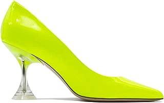 ALDO CASTAGNA Luxury Fashion Womens ELISE580GIALLO Yellow Pumps | Fall Winter 19