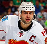 Mark Giordano Calgary Flames NHL Poster on Silk/Silk