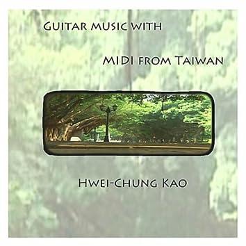 Gutiar Music with MIDI from Taiwan