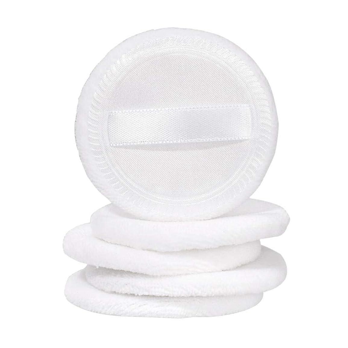 水心のこもった完全に乾くLazayyii スポンジパフ コットンパフ ルースパウダー プレスパウダー 化粧道具 (ホワイト)