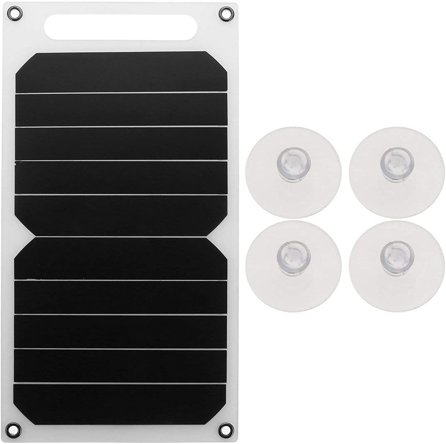 Bloomerang BIKIGHT 10W 5V Portable Solar Power Panel Charger w Sucker for Samsung iPhone Tablet Pad