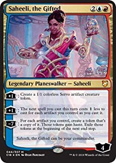 Magic: the Gathering - Saheeli, The Gifted - Commander 2018