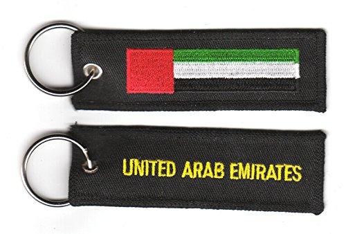 Schlüsselanhänger Vereinigte Arabische Emirate Fahne