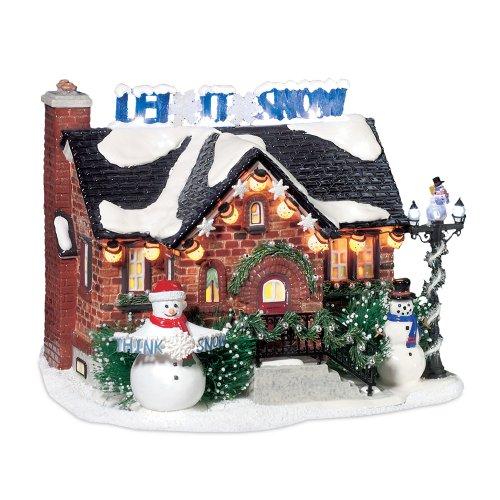 Department 56 Snow Village The Snowman House Lit ...