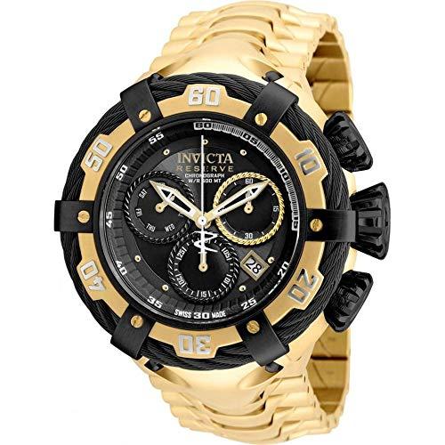 Relógio Invicta Bolt 21360 Thunderbolt Dourado/Preto