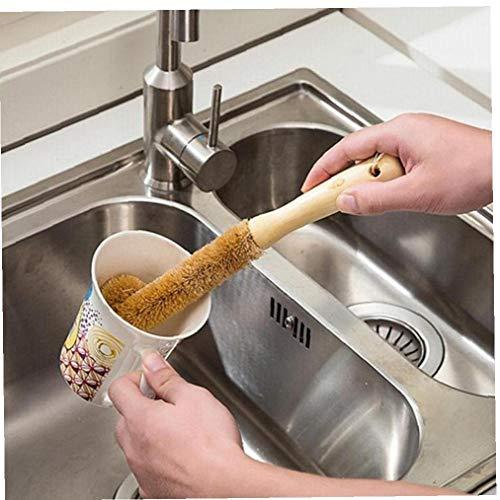 CULER Limpieza Ambiental Cepillo para la Botella de Cristal Leche Uso de la Familia de Cristal Esponja Copa Cepillo Cepillo de Limpieza