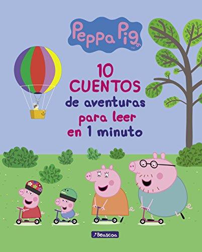 10 cuentos de aventuras para leer en 1 minuto (Un cuento de Peppa Pig)