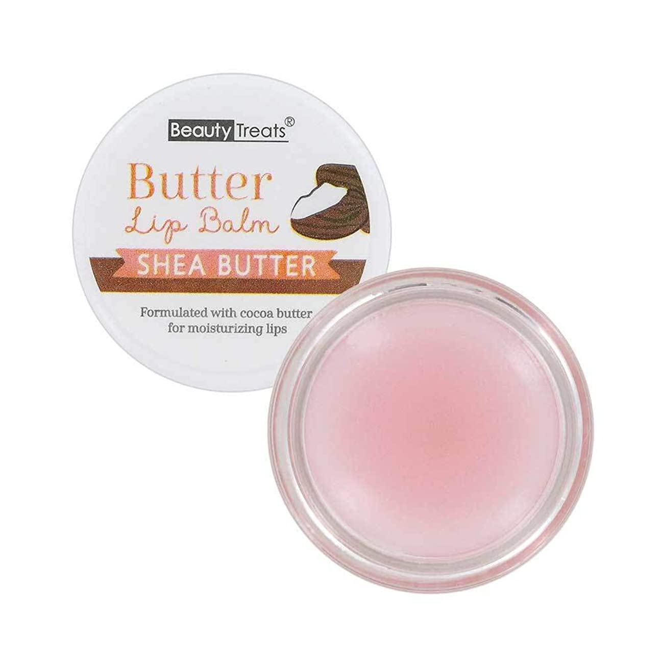 本部消えるアリーナBEAUTY TREATS Butter Lip Balm - Shea Butter (並行輸入品)