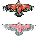 Cometa Cometa Águila Grande Cometa Águila Real Cometa Adulta - Actividades Al Aire Libre Actividades para Padres E Hijos - Tamaño 7.87 * 3.6 Pies (Color : Red, Size : 300m)
