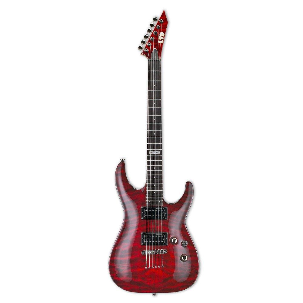 Cheap ESP LTD MH-100QMNT Electric Guitar See Thru Black Cherry Black Friday & Cyber Monday 2019