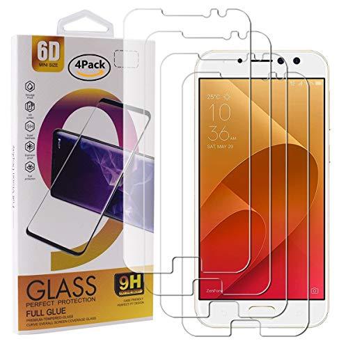 Guran 4 Pezzi Pellicola Protettiva in Vetro Temperato per ASUS Zenfone 4 Selfie PRO ZD552KL Smartphone 9H Durezza Anti-Impronte HD Alta Trasparenza Pellicola