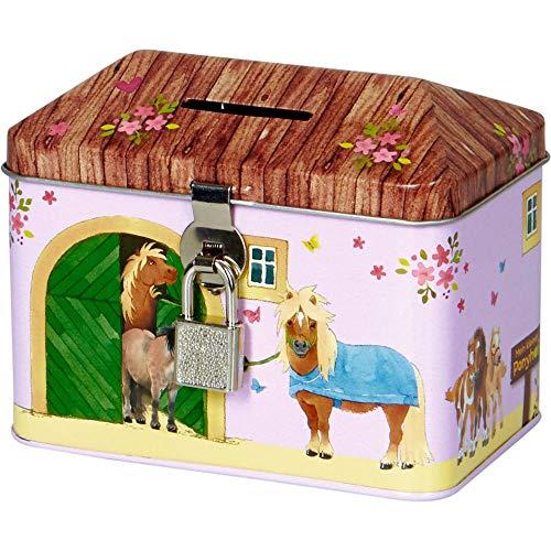 Die Spiegelburg 15493 Spardose Mein Kleiner Ponyhof (Ponystall)