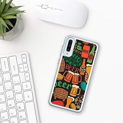 Bier Hülle Samsung Galaxy Case A10 A20 A30 A40 A50 A70 M10 M20 M30 2019 Plastik Silikon phone case Alkohol lager Handwerk trinken ale