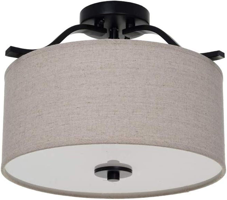 Ravenna Home Classic 3 Light Semi-Flushmount Pendant, 11.50 H, With Bulbs, Dark Bronze