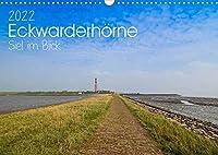 Eckwarderhoerne - Siel im Blick 2022 (Wandkalender 2022 DIN A3 quer): Eckwarderhoerne - der Siel im Blick - Ebbe und Flut (Monatskalender, 14 Seiten )