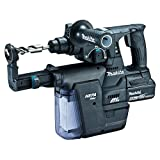 マキタ 充電式ハンマドリル18V 24mm/ハツリ可 SDS+ 集じんシステム・バッテリ充電器付 黒 HR244DGXVB