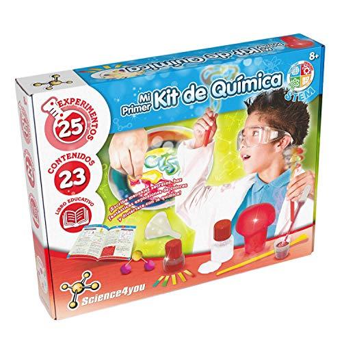 Science4you-Mi Primer Kit de Química para Niños +8Años, Multicolor (80002201)