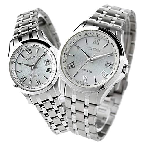 [シチズン]CITIZEN 腕時計 エクシード EXCEED 電波ソーラー チタン CB1080-52A EC1120-59A ペアウォッチ メンズ レディース
