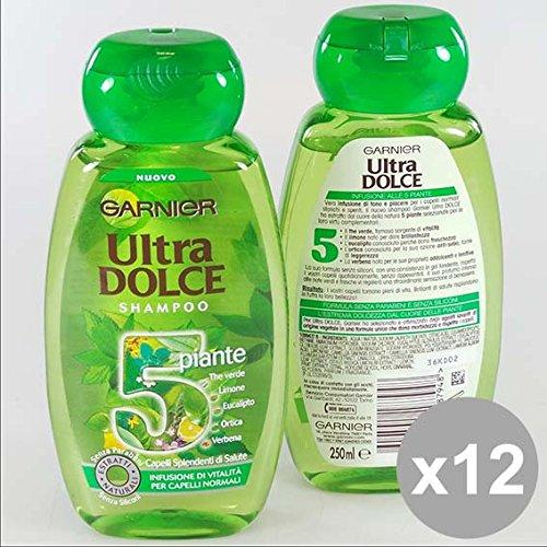 Set 12 ULTRA DOLCE Shampoo 250 5 Piante Prodotti per capelli