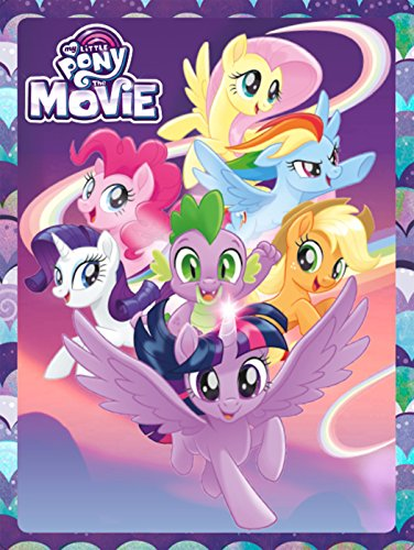 My Little Pony. The Movie. Caja metálica: Contiene 3 libros, 4 rotuladores, 1 póster y más de 50 pegatinas