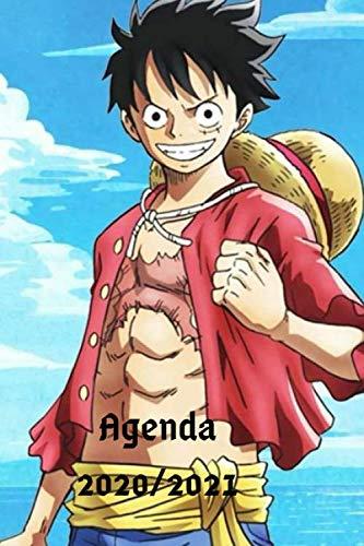 Agenda manga one piece 2020/2021: Un agenda scolaire de septembre à juin avec des illustrations à l'intérieur