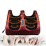 2021 Electric Foot Massage Machine, GGHKDD Massage Shiatsu Foot Massager Machine, Foot Massager Kneading and Rolling for Foot, Ankle, Nerve Pain etc Best Gift for Girlfriend&Mom