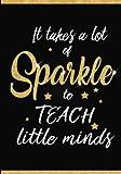Teacher Notebook: Journal Planner / Great for Teacher Appreciation Gifts / Thank You Teacher / Preschool / Teacher Of The Year