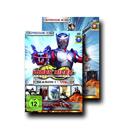 Kamen Rider Dragon Knight - Season 1 komplett, Vol. 1+2 (Episode 1-10) [2 DVDs]