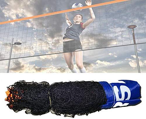 Jilijia - Red de tenis y bádminton ajustable plegable para niños de...