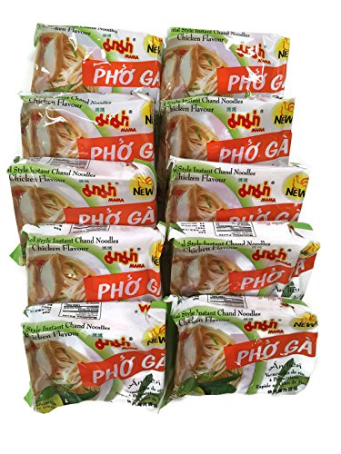 Instant Pho Ga Chand Noodle Soup, 1.93 Oz. Packets (Set of 10) (Chicken (Pho Ga))
