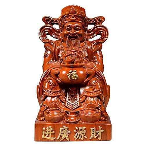 Riqueza Suerte Estatua EXQUISITE TABLE TOP Decoración Estat