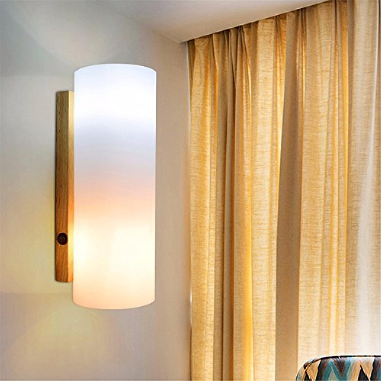 StiefelU LED Led-Wandleuchte Schlafzimmer Nachttischlampe Wandleuchte in, eine Holztreppe, Lampen, Wandleuchten, 5 WLED mit Licht Schalter gemischt