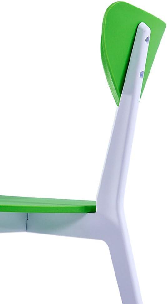 Chaise de salle à manger minimaliste moderne (Couleur : A) E