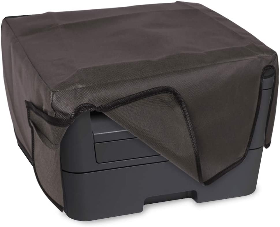 kwmobile Cover Compatible with Brother DCP-L2530DW / L2550DN / MFC-L2710DN / L2750DW - Dust Cover Printer Protector - Dark Grey