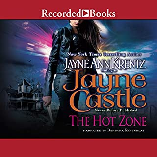 The Hot Zone     A Rainshadow Novel, Book 3              By:                                                                                                                                 Jayne Castle                               Narrated by:                                                                                                                                 Barbara Rosenblat                      Length: 8 hrs and 48 mins     512 ratings     Overall 4.5