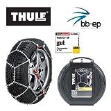 THULE CL-10 ADAC TESTSIEGER - Cadenas de nieve para 215/65 R16 (incluye guantes de calidad)