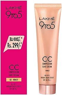 Lakme 9 to 5 Complexion Care CC Cream Honey, 30 g