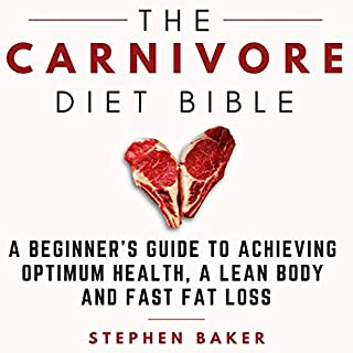 The Carnivore Diet Bible audiobook cover art