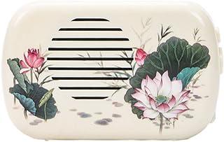 Ximimark Mini Lotus Buddhist Buddha Pray Music Machine With 22 Buddha Songs Incantation,White