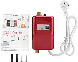 FTVOGUE 220 V, 3400 W, compacte elektrische instant waterverwarmer zonder tank voor in de badkamer, keuken of wasruimte