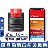 ThinkDiag Diagnosis Bluetooth Todos los Sistema Codificación de ECU y Pruebas activas y 16 Funciones de Servicio de Reinicio App para Dispositivos Android e iOS [ Nuevo EasyDiag 2020 ]