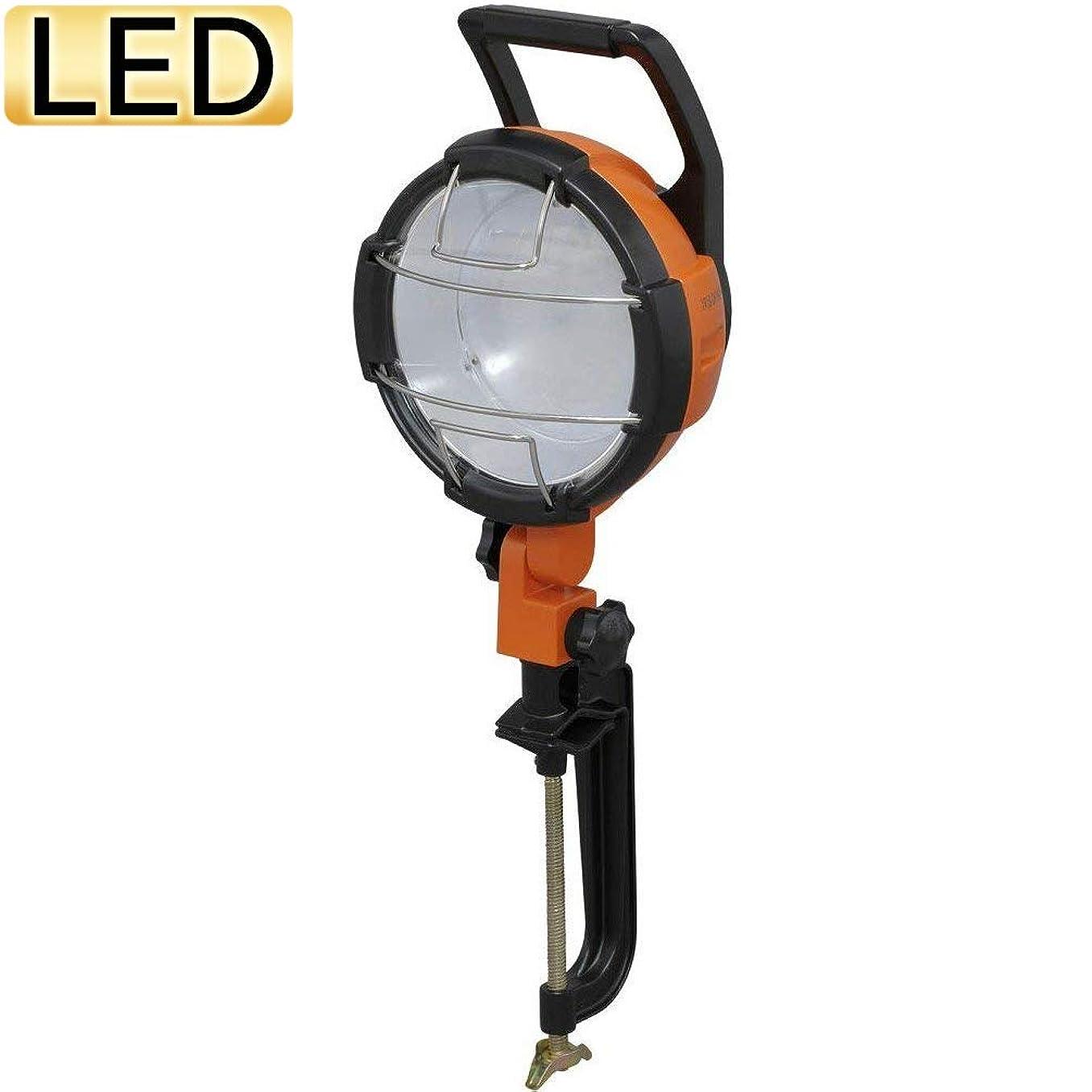 生産性カスタムバナーアイリスオーヤマ LED ワークライト投光器 作業灯 防雨型 屋内?屋外兼用 クランプライト 2000lm LWT-2000C