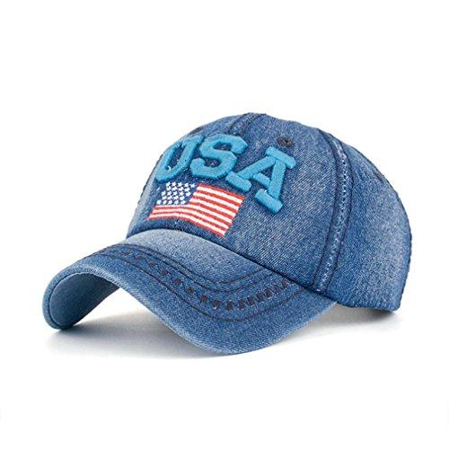 XibeiTrade Men Women Washed Twill Cotton Baseball Cap Vintage Adjustable Dad Hat