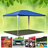 wolketon 3x4m Carpas Pabelln Estable Carpa para Fiesta toldo Impermeables Gazebo Estable fcil de desplegar Costuras Selladas de PE