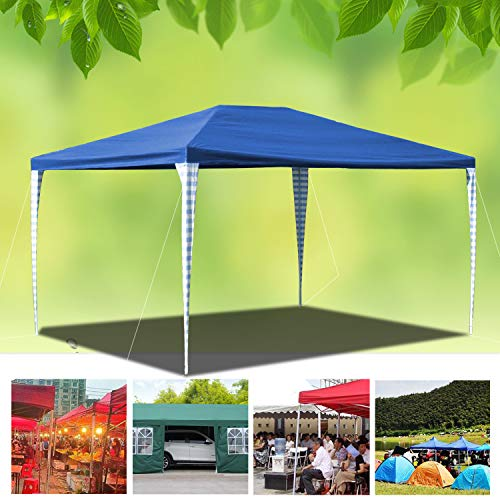 Wolketon 3x4m Stable Pavilion Tent for Party Awning Waterproof Gazebo Stable Easy to Unfold PE Sealed Seams