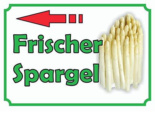 HB-Druck Verkaufsschild Schild Spargel Links A0 (841x1189mm)