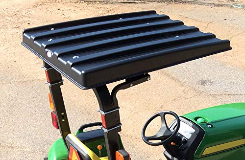 RDJ Trucks Made in The USA - American-Shade Utility Tractor ROPS Solid ABS Canopy/Top (48 Inch Canopy)