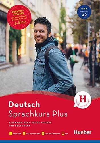Sprachkurs Plus Deutsch A1/A2 - Premiumausgabe: A German Self-Study Course for Beginners / Buch mit Audios und Videos online, Begleitbuch, Online-Übungen und LEO-Onlinekurs